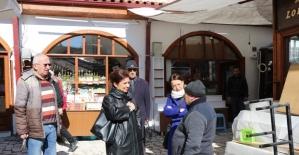 Başkan Köse restorasyon çalışmalarını inceledi