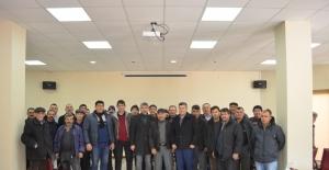 Beylikova'da küçükbaş hayvan yetiştiricilerine yönelik ilgilendirme toplantısı yapıldı