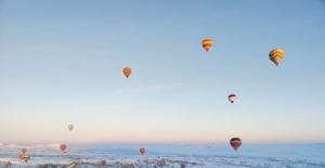 Kapadokyada balonlar 11 gün aradan...