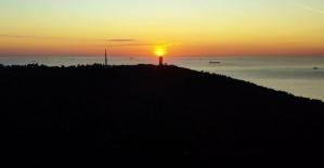 (Özel) Adalarda gün batımı hayran...