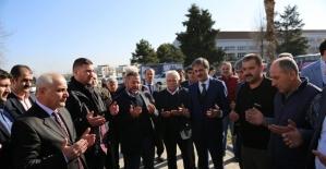Serdivan'dan toplanan yardımlar dualarla Elazığ'a yola çıktı
