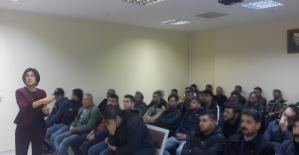 Tarsus'ta denetimli serbestlik yükümlülerine eğitim