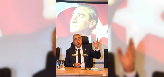 """TESK Genel Başkanı Palandöken: """"Damlaya damlaya göl, kuruşlarla ise milyar olur"""""""