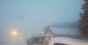 Uludağ'da kar yağışı sürprizi