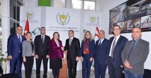 """ULUSKON Başkanı Atasoy: """"KKTC'de demiryolu başta olmak birçok projede iş birliği yapacağız"""""""