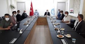 AK Parti Van Milletvekili Arvas'ın Çaldıran ziyareti