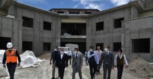 AMATEM ve ÇEMATEM inşaatları devam ediyor