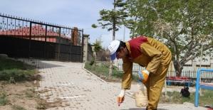 Başkale'de camiler cuma namazına hazır