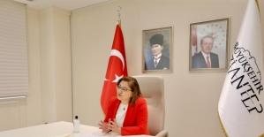 Başkan Şahin, dijital ortamda öğrenciler ile buluştu