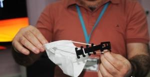 Cizre BİLSEM sağlıkçılar için maske tutucu aparat üretti