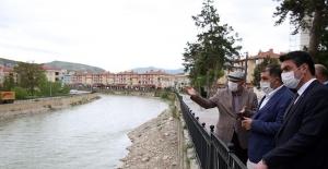 Çoruh Nehri Geçişi Projesi'nde 2. etap çalışmaları geniş kapsamlı ele alındı