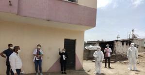 Diyarbakır'da bir köy korona virüs tedbirleri kapsamında karantinaya alındı