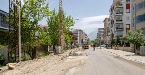 İpekyolu Belediyesinden yeni yol seferberliği