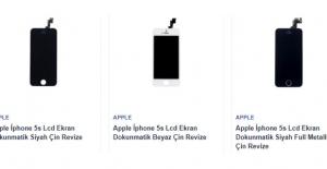 İphone 5S Ekran Fiyatı Orjinal Ürünler İçin Telefon Parçası