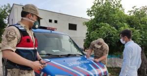 İslahiye'de sokağa çıkma kısıtlamasına uymayanlara ceza
