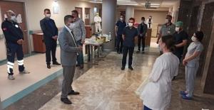 Müdür Sünnetçioğlu'ndan bayram ziyaretleri