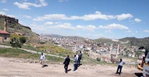Nevşehir Kalesi'ni Meryem Ana ve Çanlı Kilise'ye bağlayan yolda çalışmalar başlatıldı