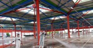 Osmangazi'de cuma namazı hazırlıkları