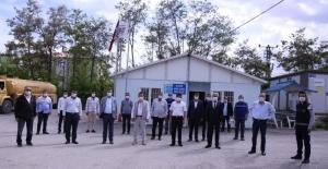 VASKİ Genel Müdürü Kaplan, personellerle bayramlaştı