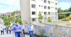 Yeşilyurt Kaymakamlığının yeni hizmet binası Gedik mahallesinde yapılacak