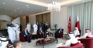 Bakan Albayrak: Katar ziyaretinde...