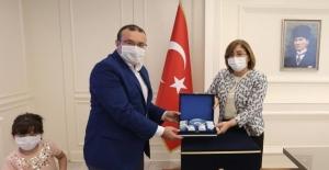 Başkan Doğan Gaziantep'te başkanlarla görüştü