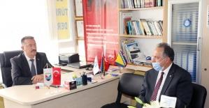 Başkan Yalçın'dan 'Serebrenitsa' ziyareti