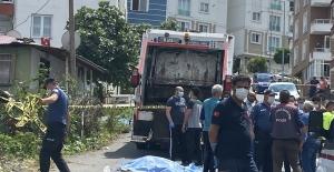 Çöp kamyonunun çarptığı yaşlı kadın hayatını kaybetti