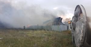 Kocaeli'de geri dönüşüm tesisinde yangın