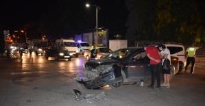 Malatyada trafik kazası : 1 yaralı