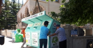 Sincan'a 40 adet 'Mini Mobil Atık Getirme Merkezi' yerleştirildi