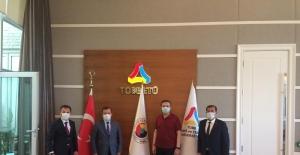 Ticaret Borsası ve TSO'dan dev yatırım için Hisarcıklıoğlu'na teşekkür