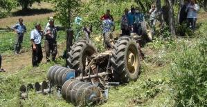 Traktörün altında can veren muhtar köylüleri yasa boğdu
