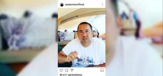 Ünlü komedyen Ata Demirer'den Ezine peyniri paylaşımı