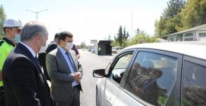 Vali Arslantaş bayram tedbirlerini inceledi vatandaşları tavsiyelerde bulundu