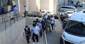 Zonguldak'taki FETÖ operasyonunda 5 şüpheli adliyede