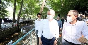 Avcıköy Hasanpınar Mesire Alanı büyük beğeni topladı