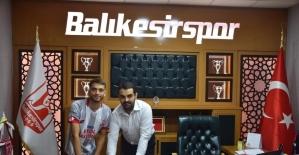 Balıkesirspor Oltion Bilalli  ile sözleşme imzaladı