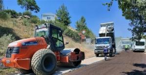Büyükşehir'den Kavaklıdere'de yol çalışması
