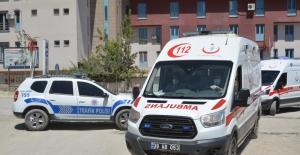 Cenazeler helikopterle hastaneye getirildi