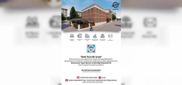 Eski Çınarlar Yaşam Merkezi ve Akıl Küpü Kitap Kafe'nin tanıtım törenine davet