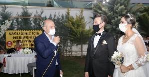 """İçişleri Bakanı Soylu """"düğün salonu"""" denetimine katıldı"""