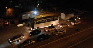 43 ilin geçiş noktasında gece yarısı 'HES kodu' denetimi: Otobüsler tek tek duruluyor