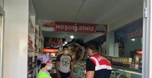 Ağrı'da karantina kurallarına uymayan vatandaşa 3 bin 150 lira para cezası