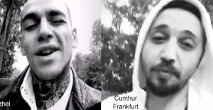Ezhel'e Cumhur Frankfurt'tan Rap'li cevap!