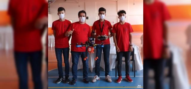 Katmanlı üretim tekniği ile yaptılar, Türkiye birincisi oldular