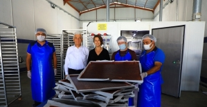 Meyve-sebze kurutma tesisi ile üretici kazanıyor