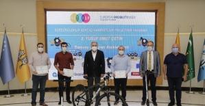 Sürdürülebilir Kent İçi Hareketlilik Projesinin ödül töreni yapıldı