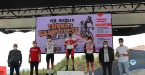Yol Bisikleti Türkiye Şampiyonası, 'Zamana Karşı' etabı sona erdi