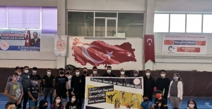 29 Ekim Badminton Turnuvası yapıldı